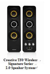 创新发布T50 Wireless签名系列蓝牙音箱