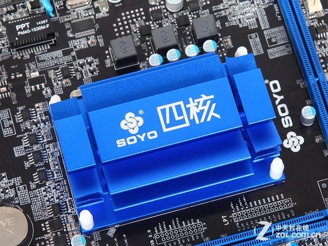 集成Intel四核处理器 梅捷1900主板到货
