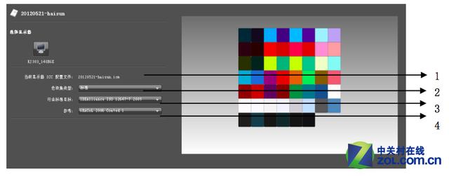 色彩管理操作流程与步骤