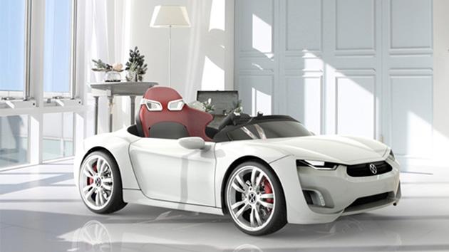 宝马推android儿童电动车