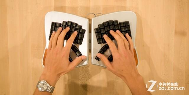 """或能取代鼠标的""""蝴蝶""""键盘Keyboardio"""