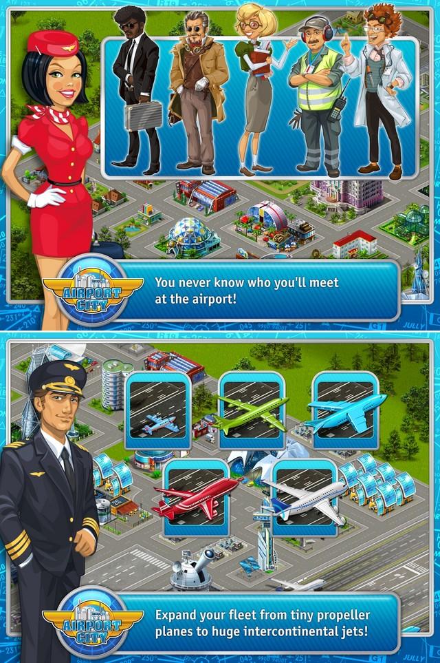 9.25安卓游戏推荐:管理好自己的飞机场