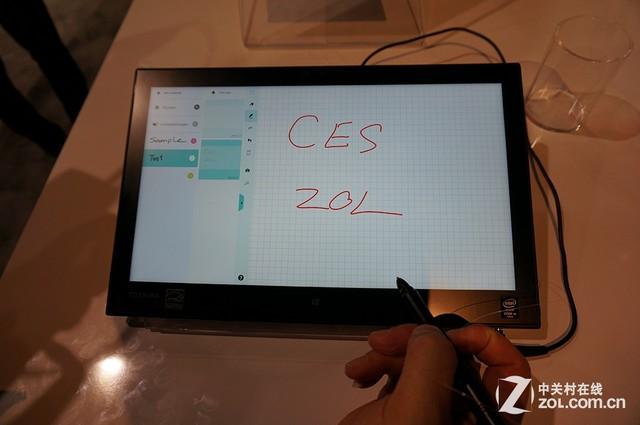 畫畫,而是通過后續軟件的推進另手寫筆成為未來windows平板離不開的便