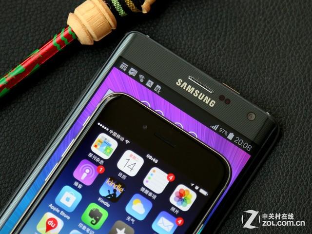 曲面侧屏新意足 iPhone 6对比三星Edge
