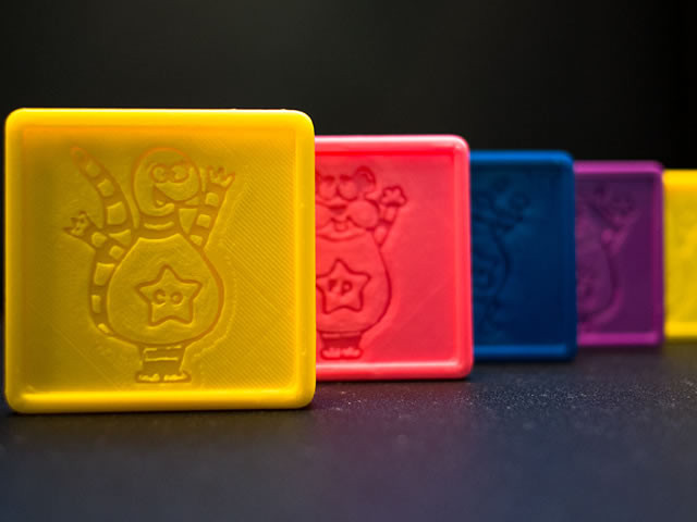 寓教于乐 童话人物变身可打印3D模型