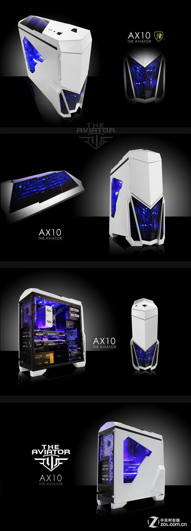 新品游戏箱上市 撒哈拉飞行者AX10白色