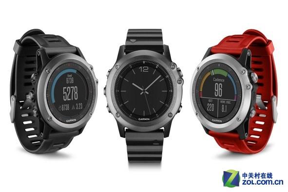 彩屏带背光 佳明发布Fenix 3户外腕表