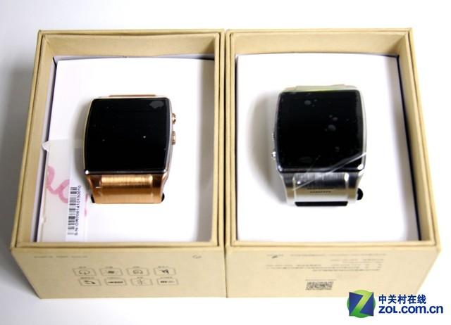 支持通话摄像 欧达008智能手表运抵zol高清图片