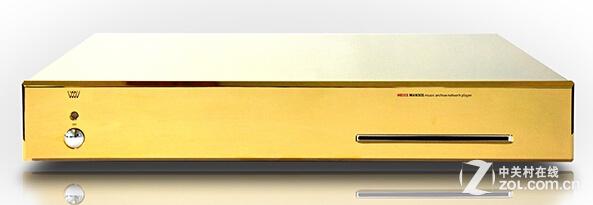 镀金版更奢华 瑞士Weiss网络播放机