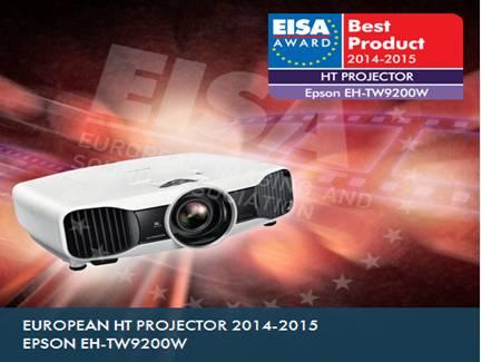 爱普生CH-TW9200W投影机获得EISA影音大奖