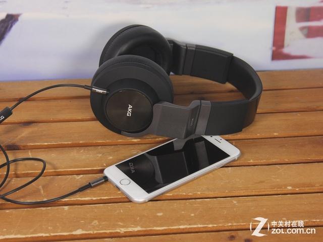 专为手机打造 AKG K545头戴式耳机试听