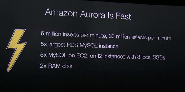 AWS推出Amazon Aurora兼容MySQL数据库