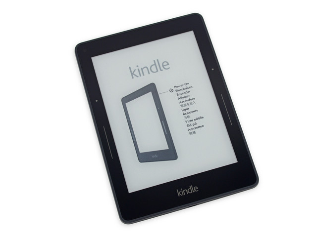 4GB存储旗舰阅读器 Kindle Voyage 拆解