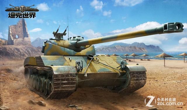 《坦克世界》更新  限量版战车眼花缭乱