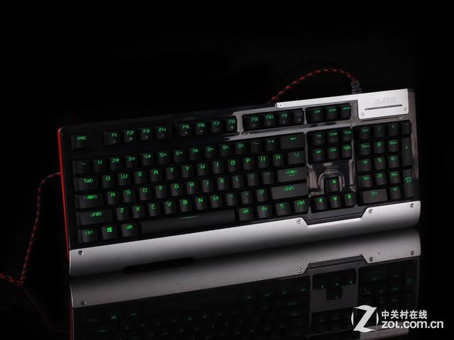 外设枪神会怎样 黑爵AK47绿轴键盘评测