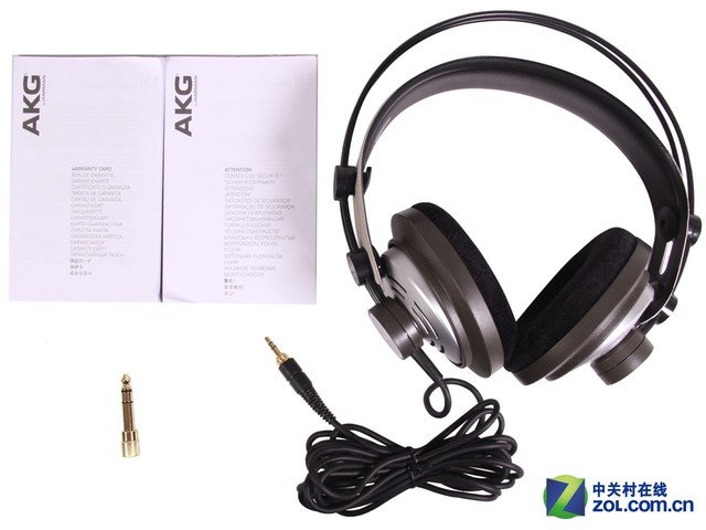 绝对正确的声音 AKG K142HD监听耳机