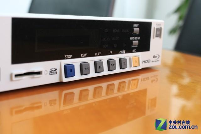 够专业!华录蓝光工程录像机BDR9800测试