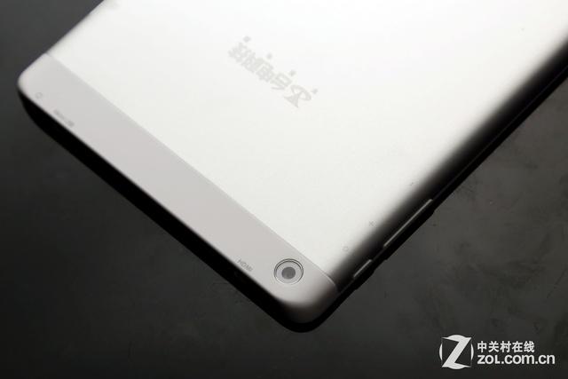 8英寸一体化金属机身 台电X80h平板评测
