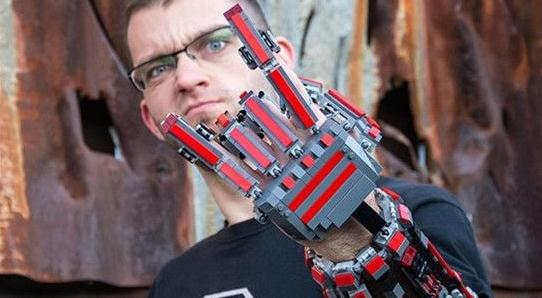 积木一些乐高图纸让你拥有只需侠手臂雕刻机器钢铁图片