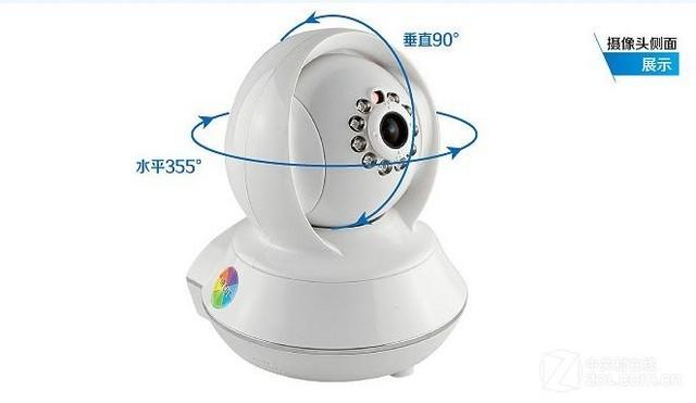 p7808摄像头放在家中,通过wifi或有线网络接入互联网