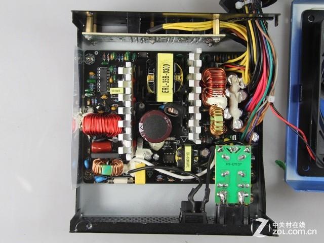 gx600电源采用了当下主流的主动式pfc设计,对于提升电源功率因数