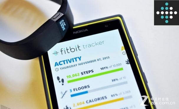Fitbit发布APP 成首款支持WP的智能手环