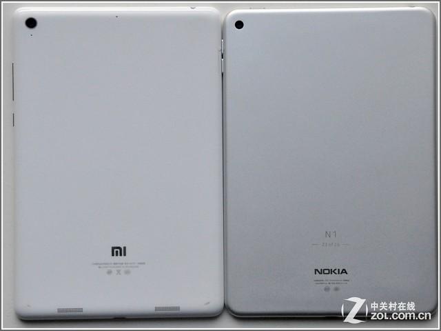 拼工艺 诺基亚N1对比小米平板—外观篇