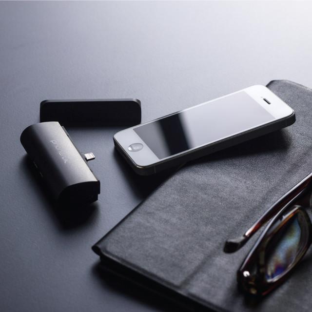 新奇配件 超小巧iPhone6直插移動充電器