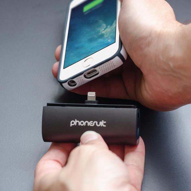 新奇配件 超小巧iPhone6直插移动充电器