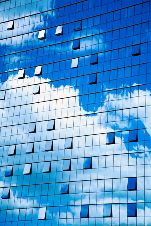 高阶玩法 玻璃幕墙的内与外_佳能数码相机_数码影像