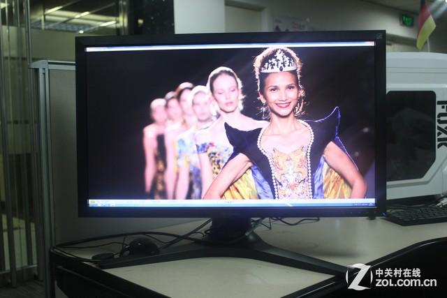 通过实拍我们可以发现,优派vp2780-4k显示器对于画面细节的表现,是图片