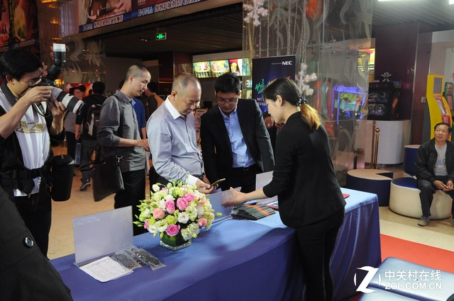NEC惊艳发布NMAX数字激光放映解决方案