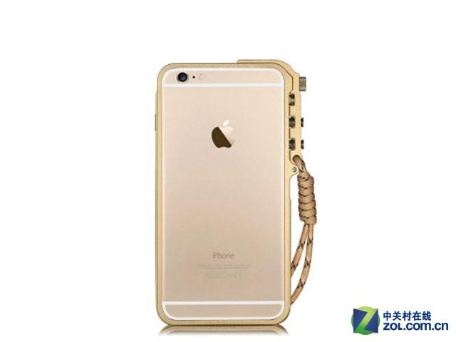 土豪金边框 潮壳iphone6保护壳售98元