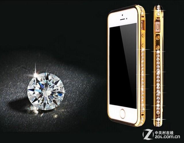 erte iphone 5s镶钻金属边框