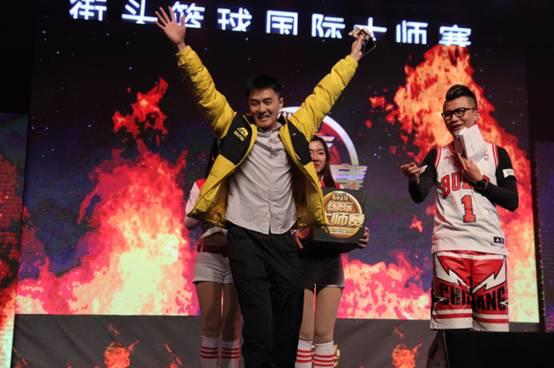 精灵强势赞助街头篮球国际大师赛