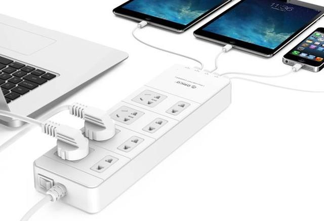 ORICO智能USB插线板玩的就是安全