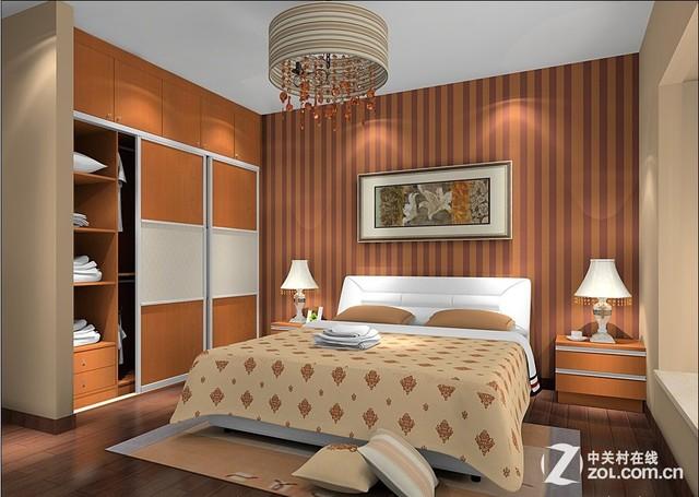 家庭臥室高清圖片
