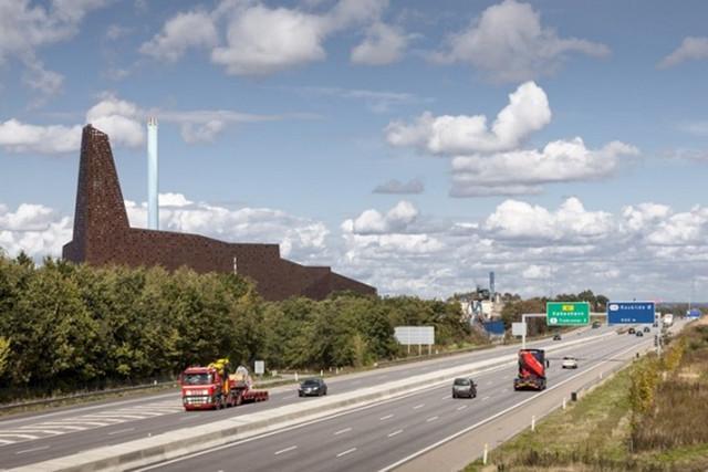 """丹麦""""能源之塔""""被评为全球最美焚烧厂"""