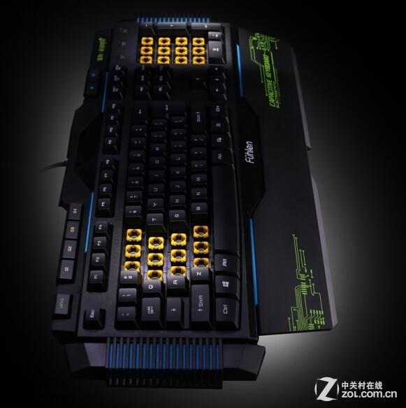 揭秘富勒fl8000静电容游戏键盘工作原理