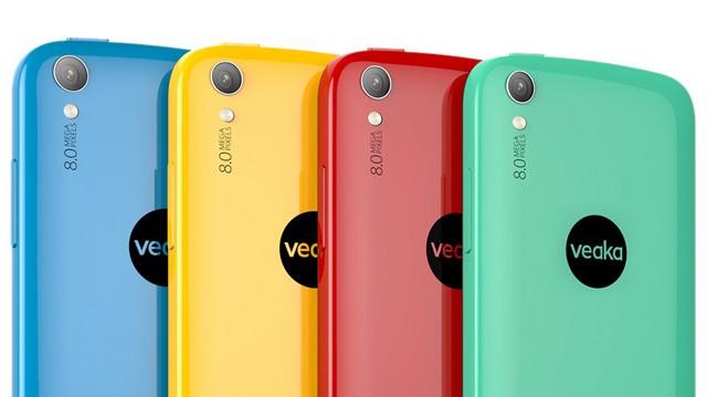 时尚四色八核手机 veaka iFeel全面曝光