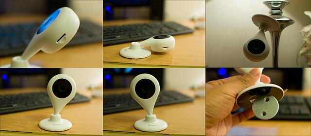 """360智能摄像机""""小水滴"""" 公测版体验"""