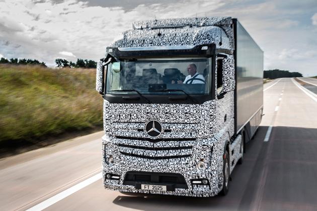 无人驾驶汽车技术新玩家 奔驰来了 高清图片