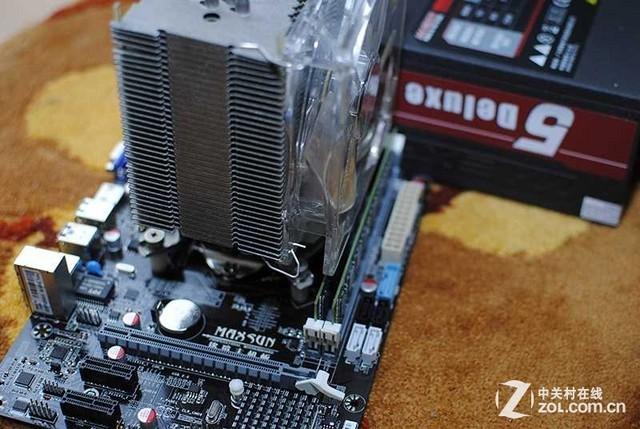 主机内部硬件的简单图解