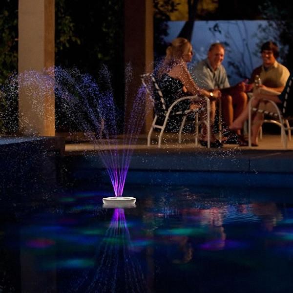 精彩设计:随身照明喷泉营造温馨氛围