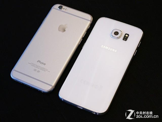 开年首交锋 三星GALAXY S6对比iPhone 6_苹