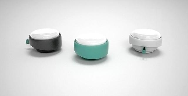 便携实用设计 可折叠的lil LED手电筒