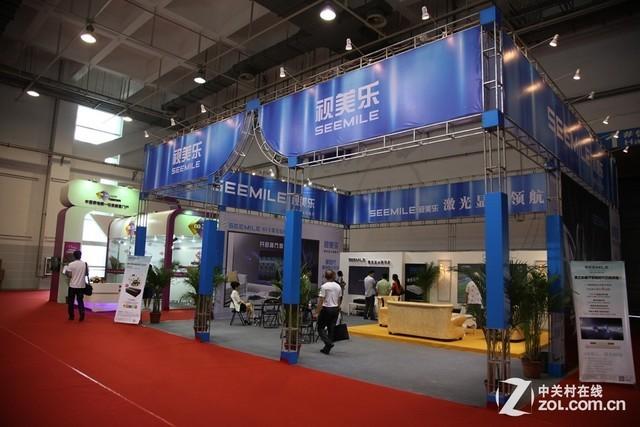 2014青岛SINOCES:视乐美推出激光电视