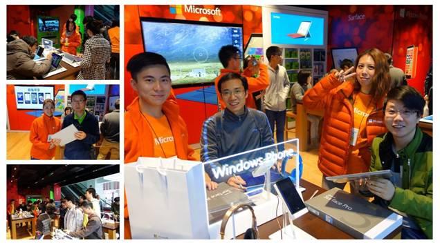 微软店中店四店新开,带来一站式线下体验