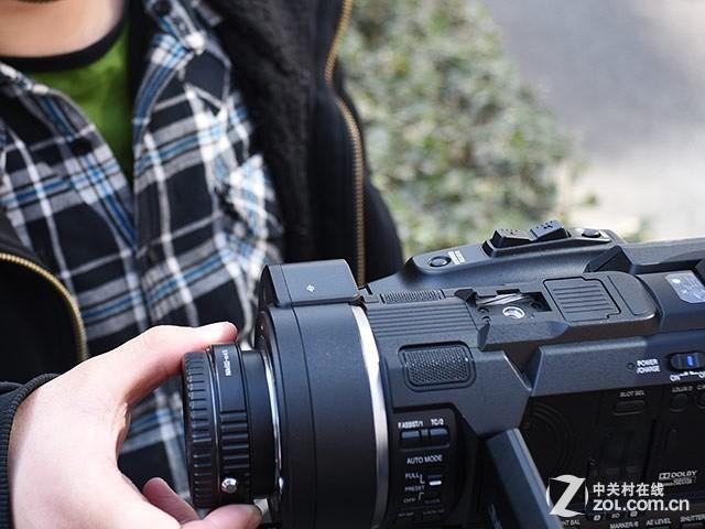Super35可换镜4K摄像机 JVC LS300首测
