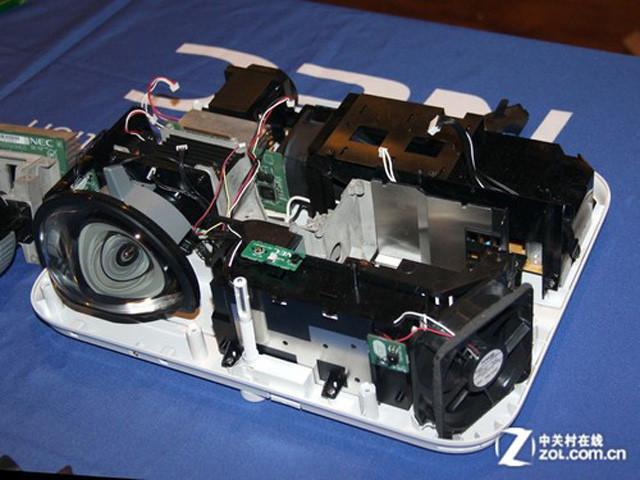 投影仪镜头构造图解
